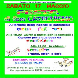 Festa di fine catechismo!
