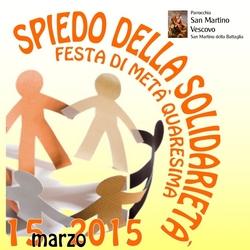 Spiedo della Solidarietà 2015 – Festeggia la solidarietà con Noi!